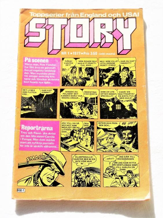 Story nr 1 1977 bättre skick.