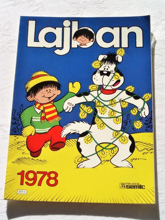 Lajban 1978 semic mycket bra skick. Nyskick.