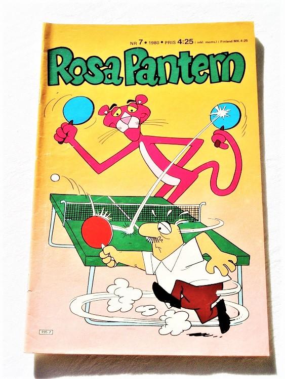 Rosa Pantern nr 7 1980 mycket bra skick nyskick oläst