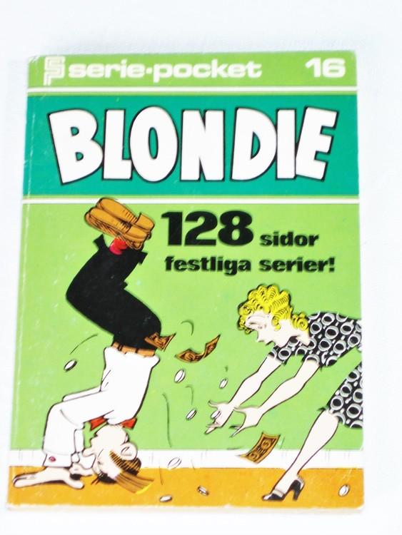Blondie Seriepocket nr 16 semic 128 sidor mycket bra skick nyskick.
