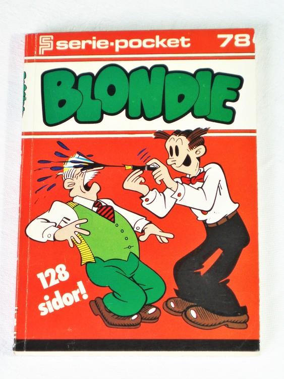 Blondie Seriepocket nr 78 semic 128 sidor mycket bra skick nyskick.