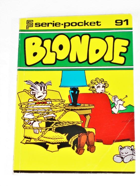 Blondie Seriepocket nr 91 semic mycket bra skick nyskick.