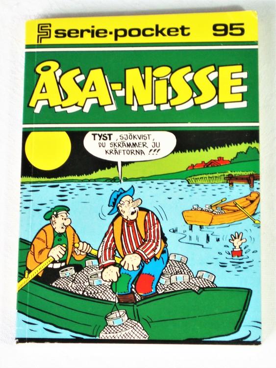 Åsa-Nisse Seriepocket nr 95 semic mycket bra skick nyskick.