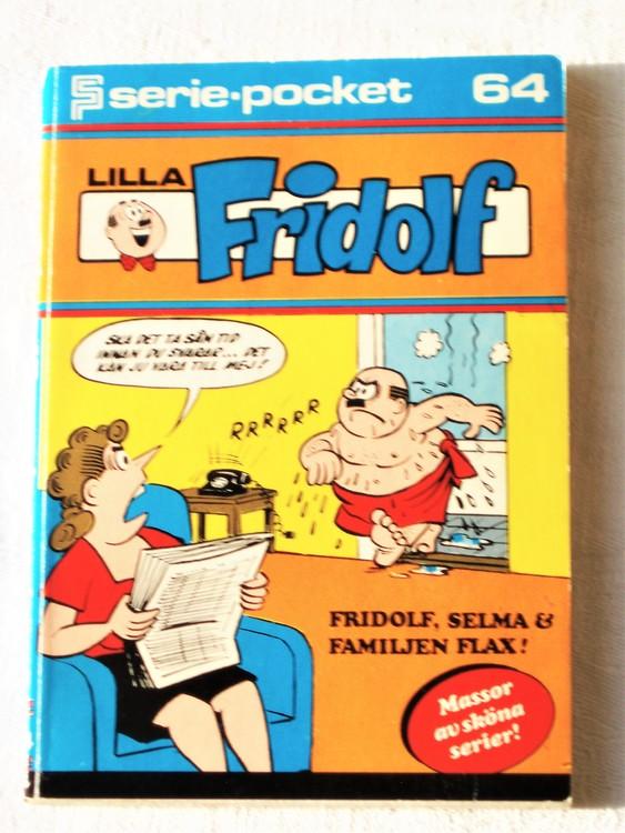Lilla Fridolf Seriepocket nr 64 semic mycket bra skick nyskick.