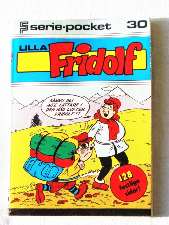 Lilla Fridolf Seriepocket nr 30 semic mycket bra skick nyskick.