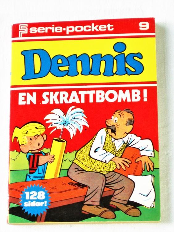 Dennis Seriepocket nr 9 semic mycket bra skick nyskick.