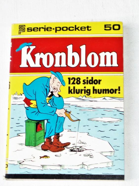 Kronblom Seriepocket nr 50 semic mycket bra skick nyskick.