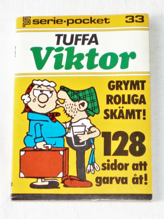 Tuffa Viktor Seriepocket nr 33 semic mycket bra skick nyskick.