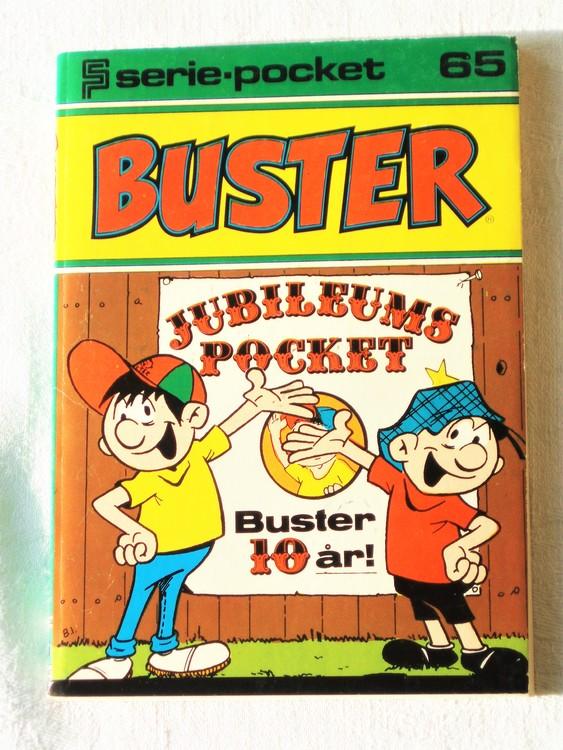 Buster Seriepocket nr 65 semic mycket bra skick nyskick.