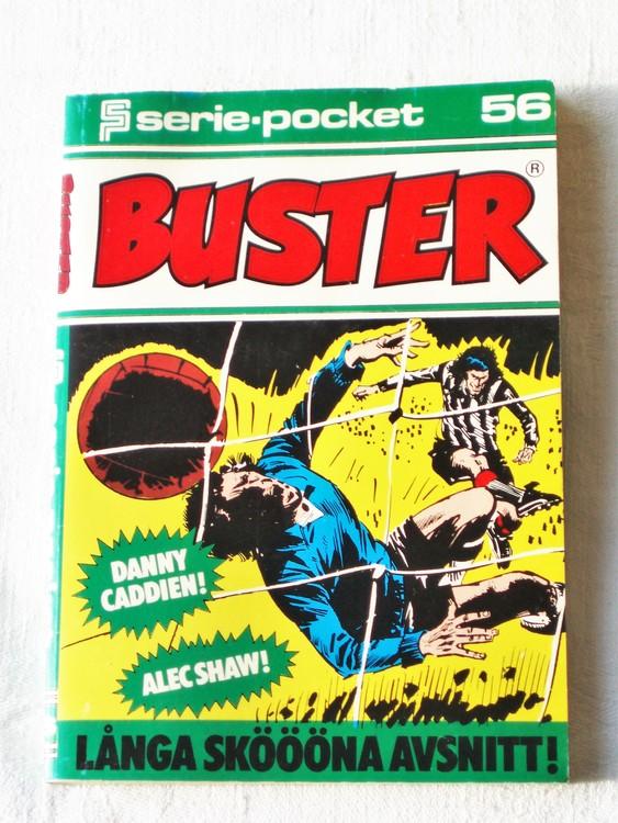 Buster Seriepocket nr 56 semic mycket bra skick nyskick.