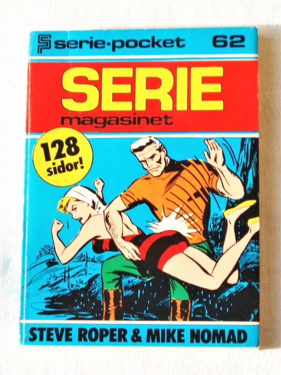 Seriemagasinet  Serie-pocket nr 62 semic mycket bra skick nyskick.