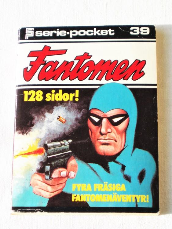 Fantomen nr 39 Serie-pocket 128 sidor bra skick
