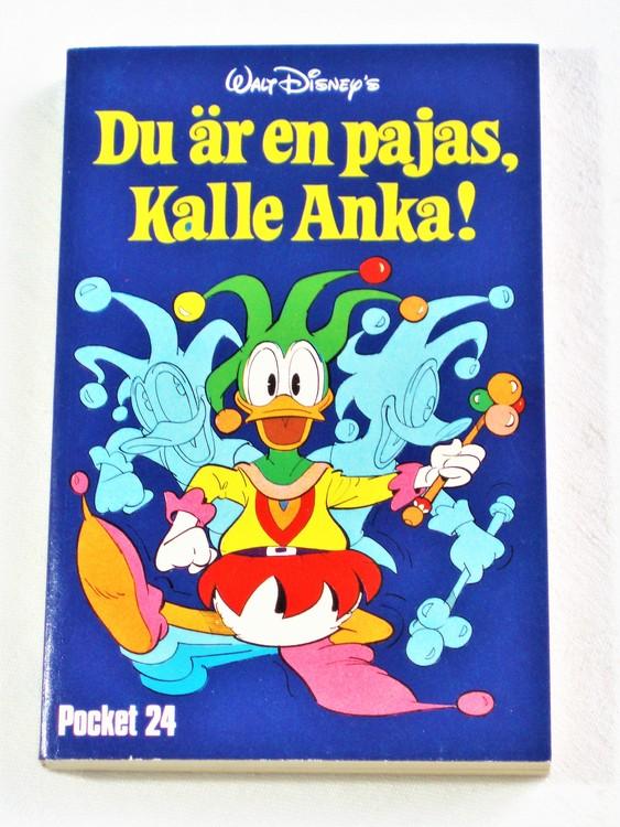 Kalle Ankas Pocket nr 24 1977  256 sidor mycket bra skick nyskick oläst.