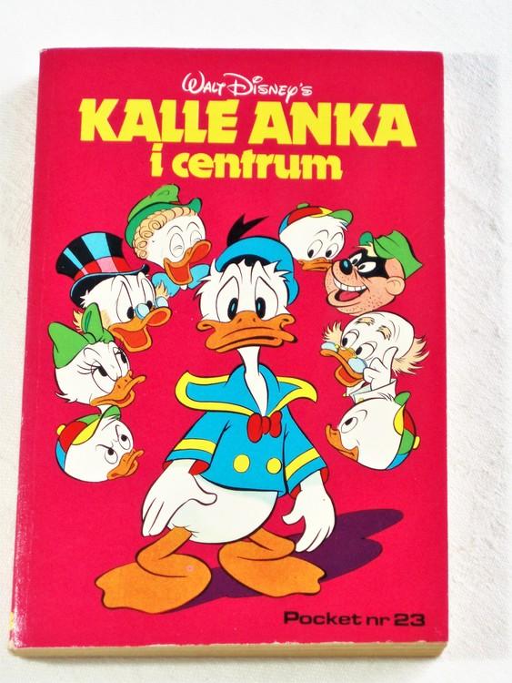 Kalle Ankas Pocket nr 23 1977 Serie-pocket 256 sidor mycket bra skick nyskick oläst