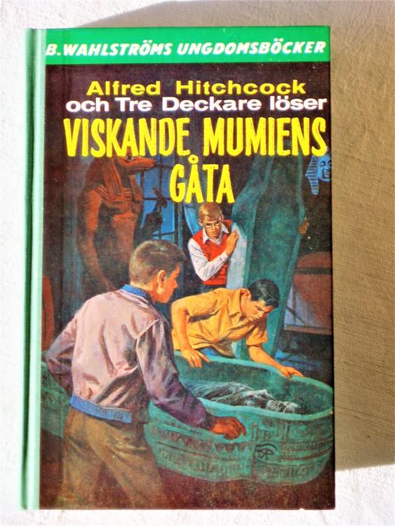 """Tre Deckare Löser """"Viskande Mumiens Gåta"""" Alfred Hitchcock mycket bra skick"""