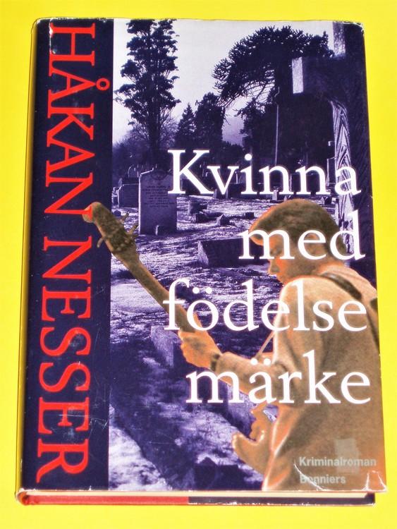 "Håkan Nesser""Kvinna med födelsemärke""1996 kriminalroman Van Veeteren"