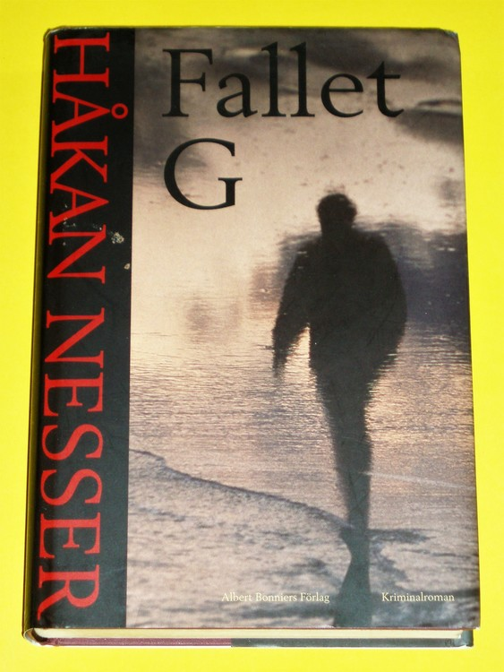 """Håkan Nesser """" Fallet G """" 2003 kriminalroman. Van Veeteren"""