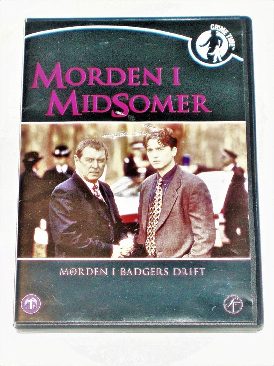 Morden i Midsomer nr 1 svensk text,normalt begagnat skick.