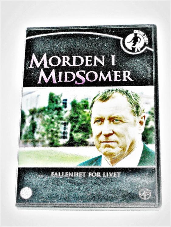 Morden i midsomer nr 24 svensk text,normalt begagnat skick.