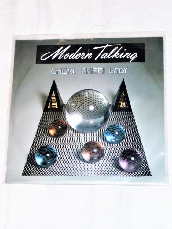 """Modern Talking """"Cheri, Cheri Lady"""" mycket bra skick."""