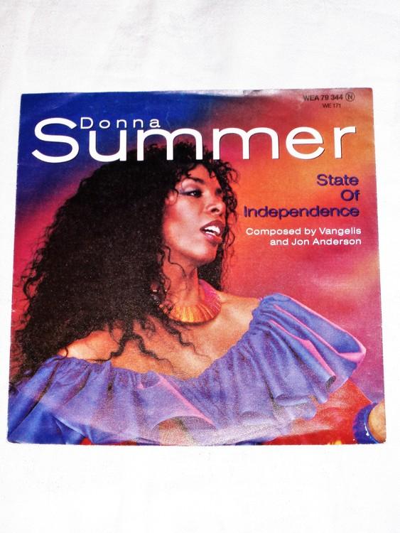 """Donna Summer """"State of Independece mycket bra skick."""