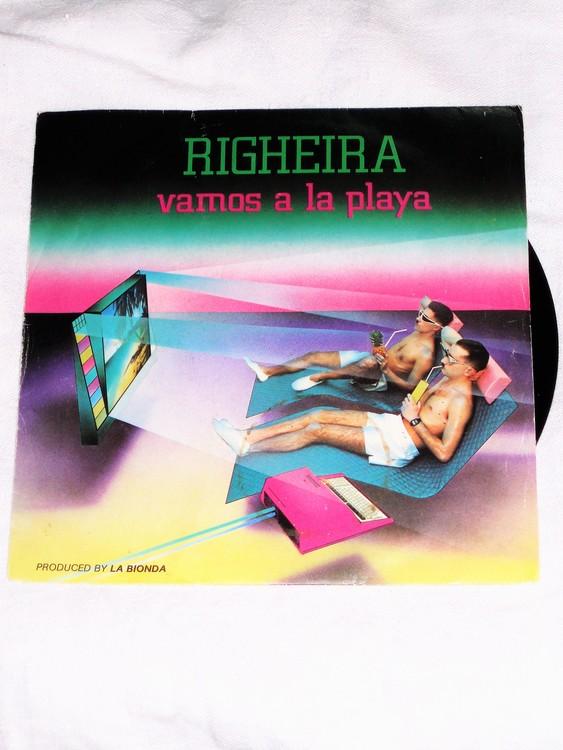 "Righeira ""Vamos a la Playa""mycket bra skick."
