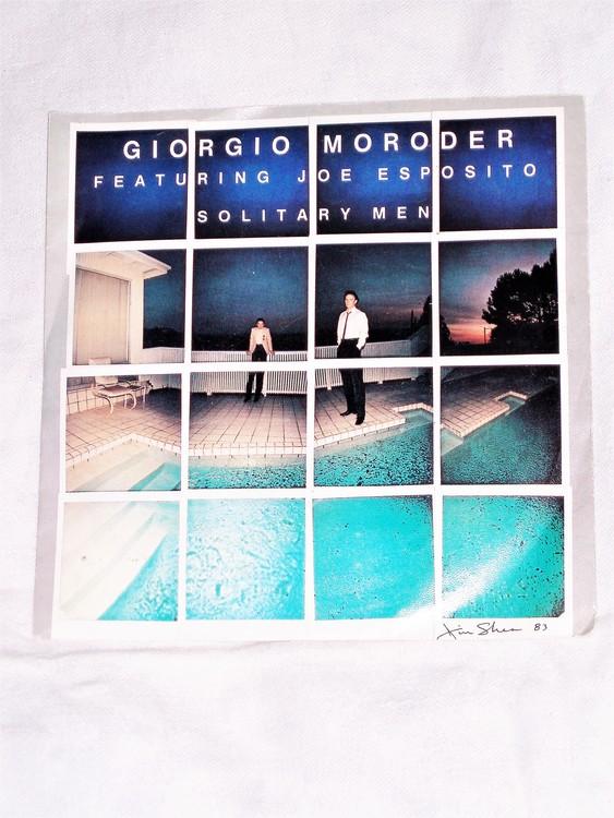 "Georgio Moroder""Solitary Men""mycket bra skick."