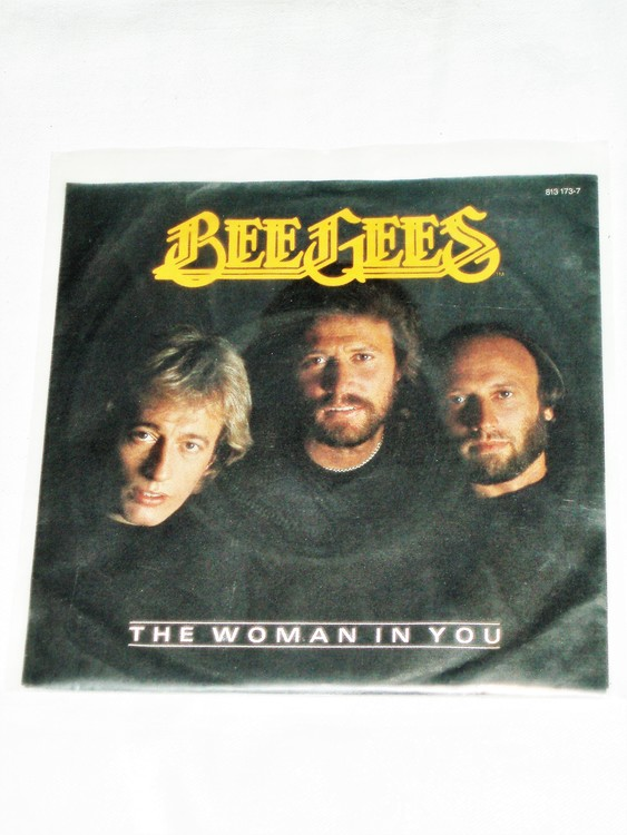 """Bee Gees """"The Woman In You""""mycket bra skick."""