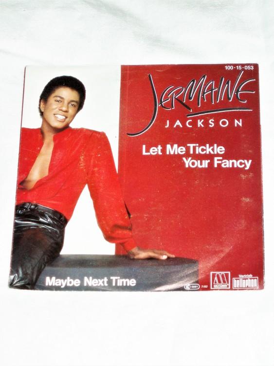 "Jermaine Jackson""Let Me Tickle Your Fancy""mycket bra skick."