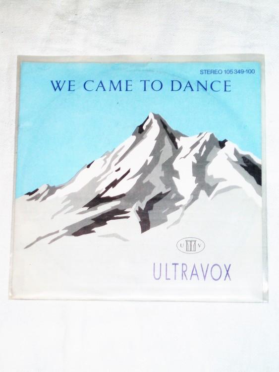 "Ultravox ""We Came To Dance"" mycket bra skick."