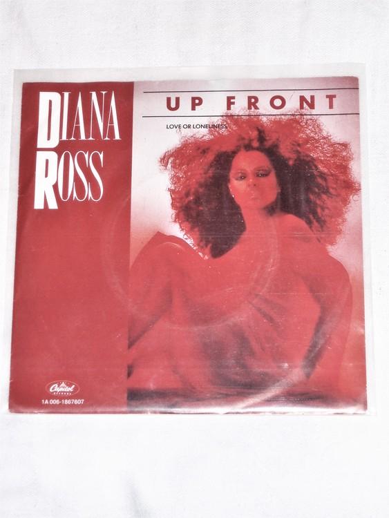 "Diana Ross ""Up Front"" mycket bra skick."