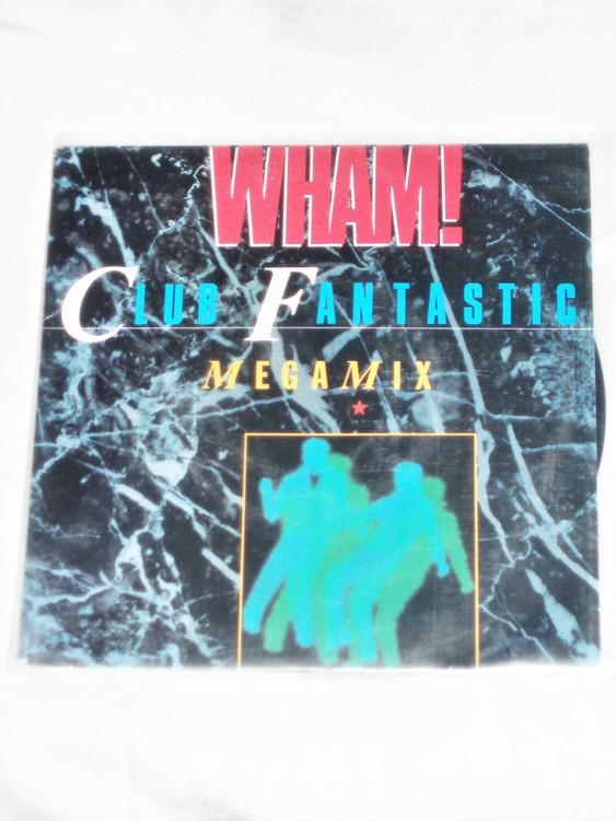 "Wham ""Club Fantastic"" Megamix"" mycket bra skick."