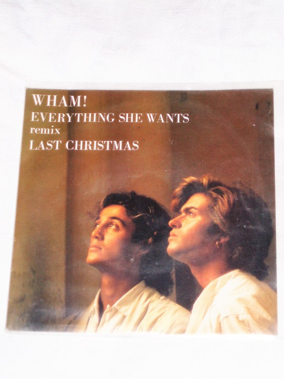 "Wham ""Everything She Wants"" mycket bra skick."