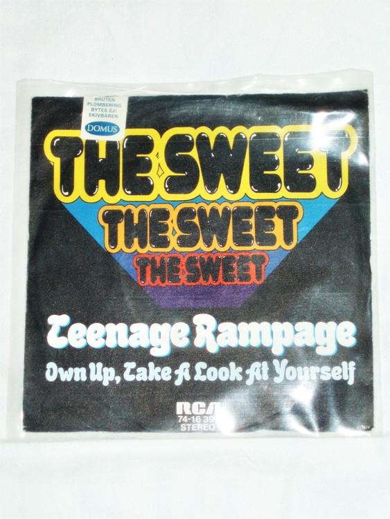 "The Sweet ""Teenage Rampage"" mycket bra skick."