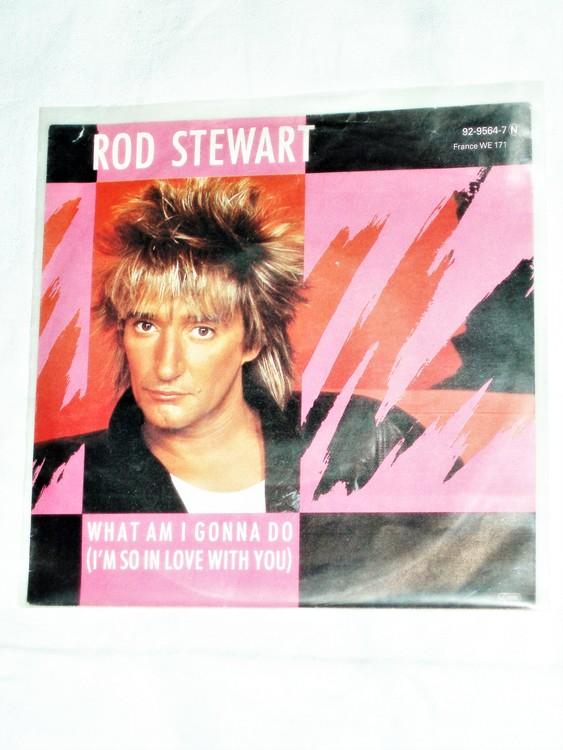 """Rod Stewart """"What Am I Gonna Do"""" mycket bra skick."""