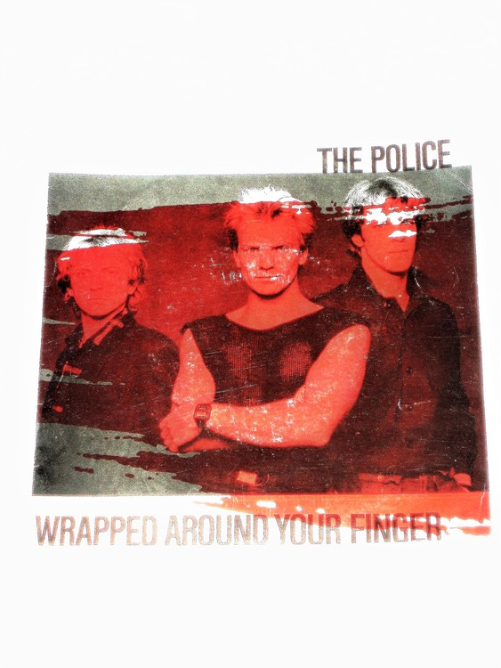 """The Police """"Wrapped Around Your Finger""""mycket bra skick."""
