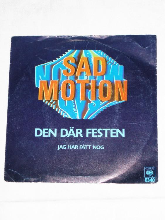 """Sad Motion """"Den Där Festen""""mycket bra skick."""