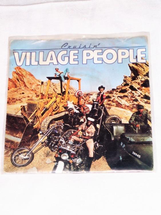 """Village People """"Cruisin"""" mycket bra skick."""