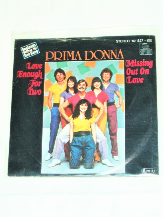 "Prima Donna ""Love Enough For Two""mycket bra skick."