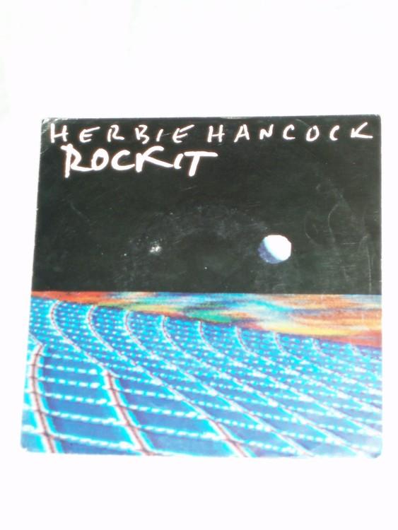 """Herbie Hancock """"Rock It""""mycket bra skick."""