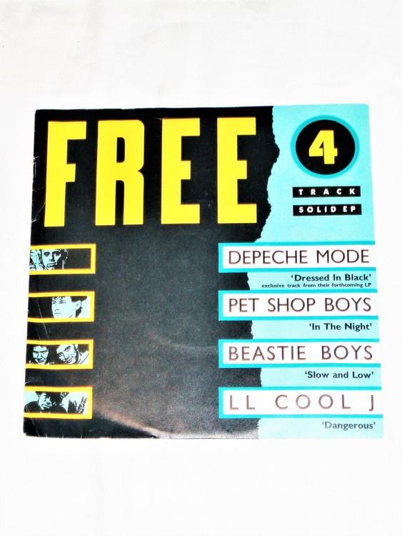 "Free ""Four Track Solid Ep"" mycket bra skick."