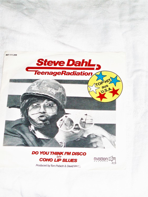 """Steve Dahl """"Do You Think I´m Discó mycket bra skick."""