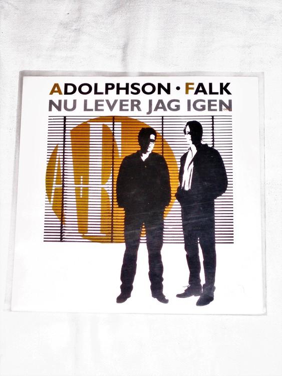"""Adolphson och Falk """"Nu Lever Jag Igen """"mycket bra skick."""
