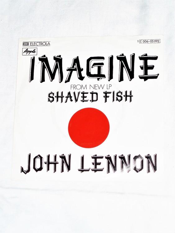 "John Lennon ""Imagine""1971 mycket bra skick."