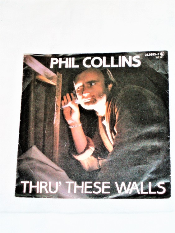 "Phil Collins ""Tru These Walls"" mycket bra skick."