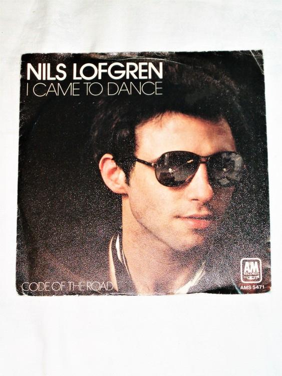 "Nils Lofgren ""I Came To Dance""mycket bra skick."