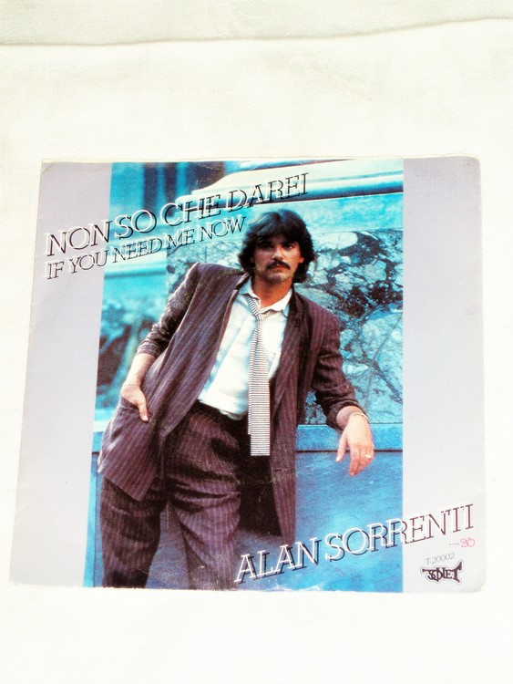"Alan Sorentii ""Non So Che Darei""mycket bra skick."