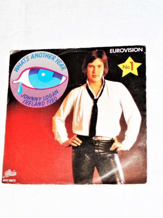 "Jonny Logan""Whats Another Year""1980 mycket bra skick."
