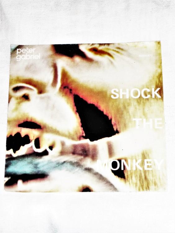"Peter Gabriel ""Shock The Monkey mycket bra skick."