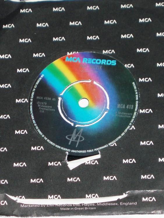 Pop Muzik 1979 mycket bra skick.